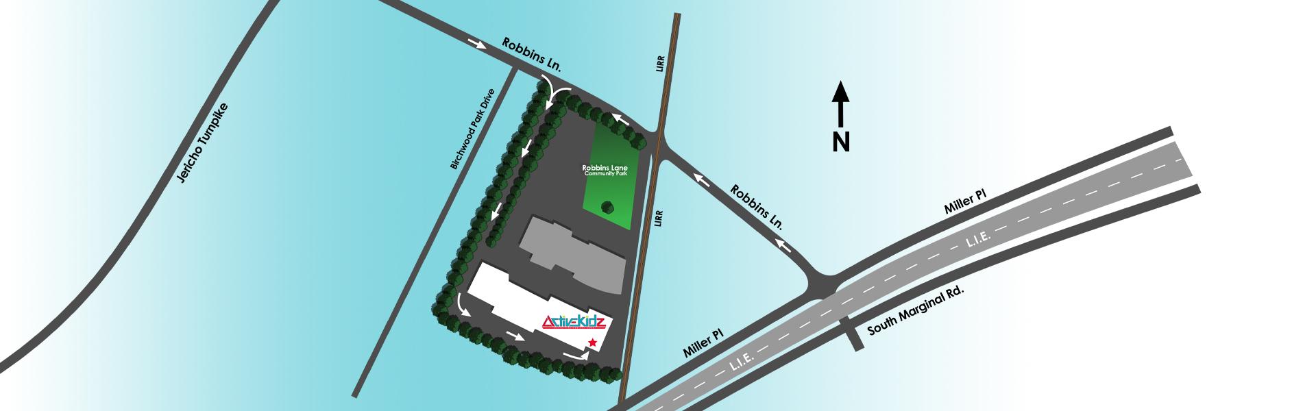 ActiveKidz Map Jericho NY