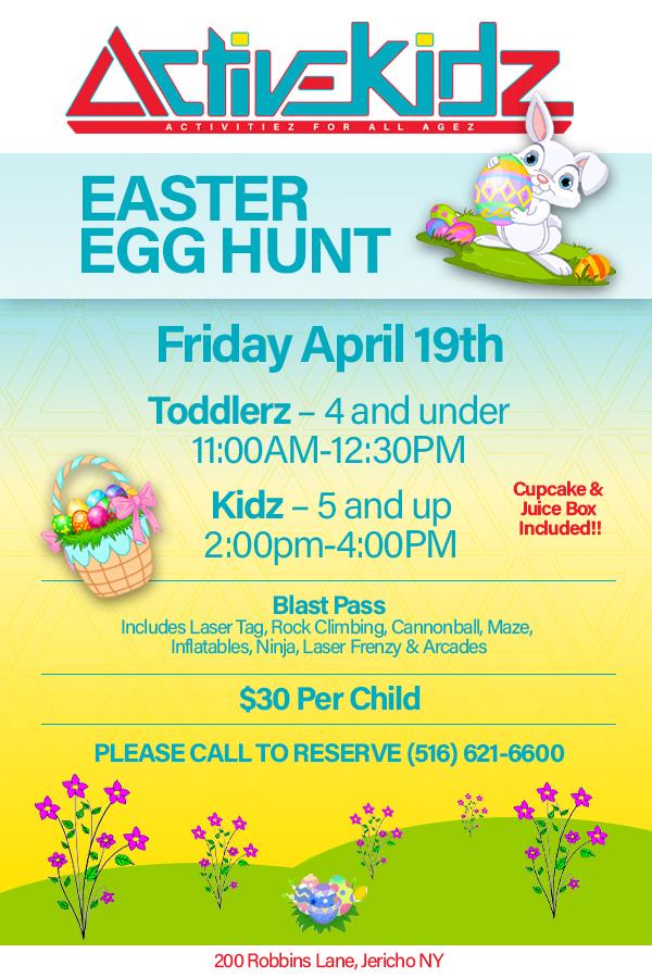 Easter Egg Hunt April 19th